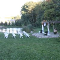 outdoor weddings and receptions in south haven